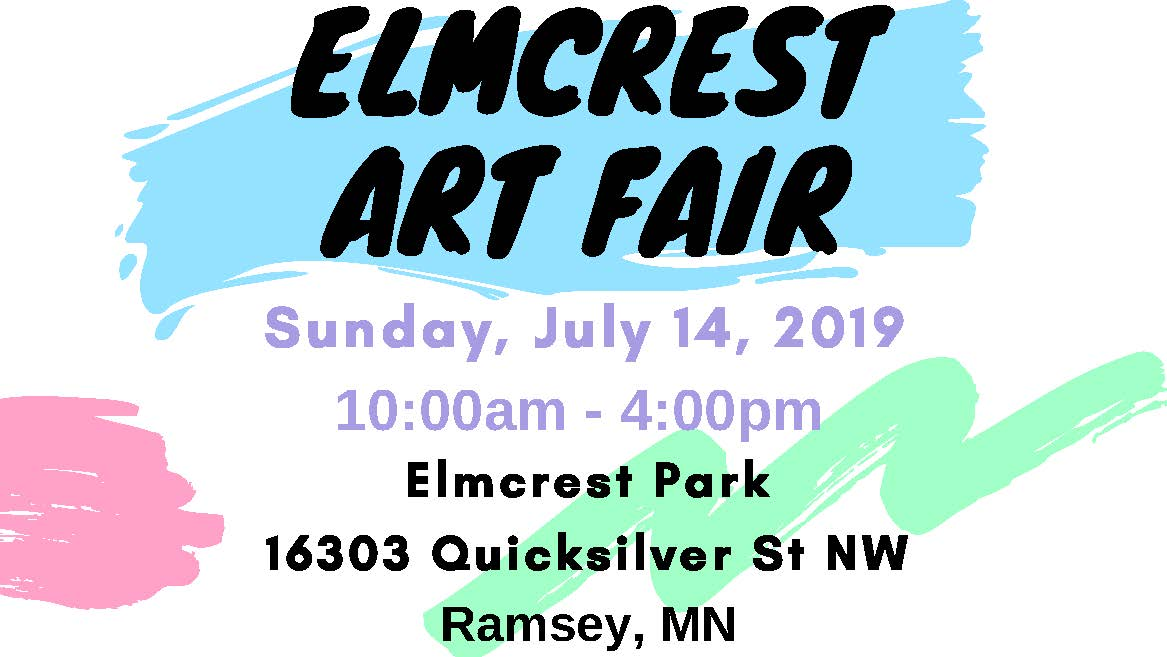 Elmcrest Art Fair Banner