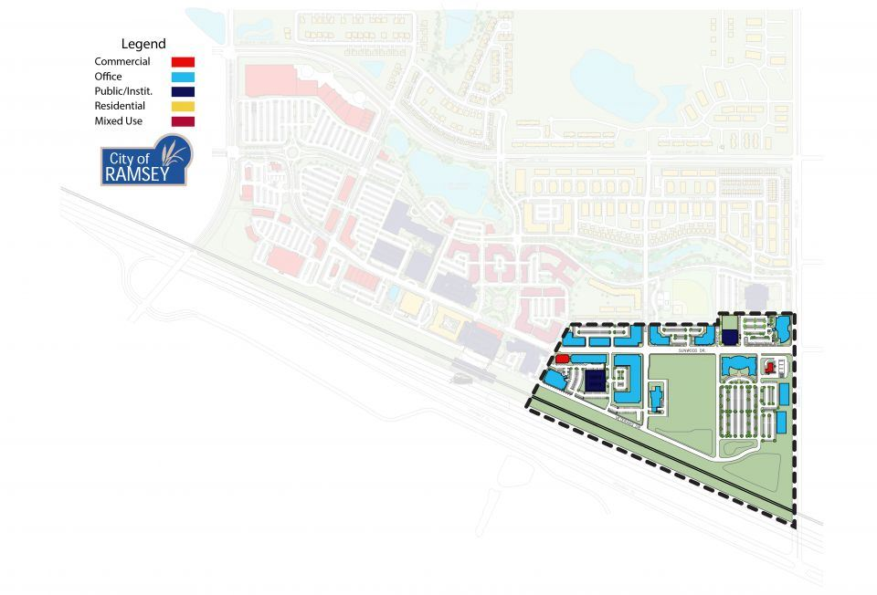 Office District COR Site Plan
