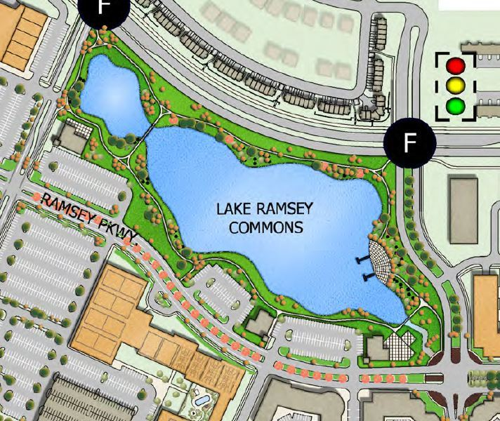 Lake Ramsey Site Plan