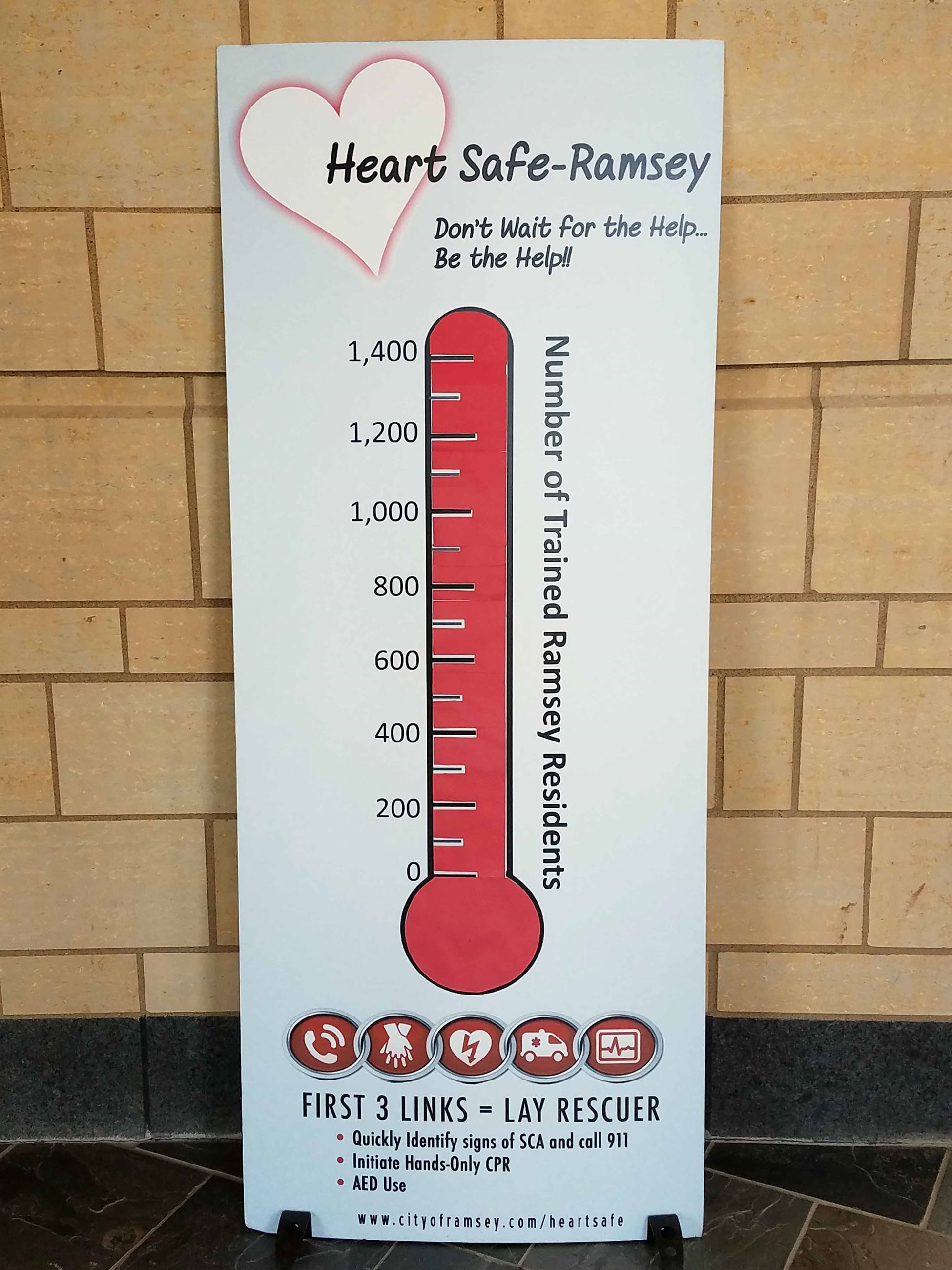 Heart Safe Ramsey 1,400 Residents Trained