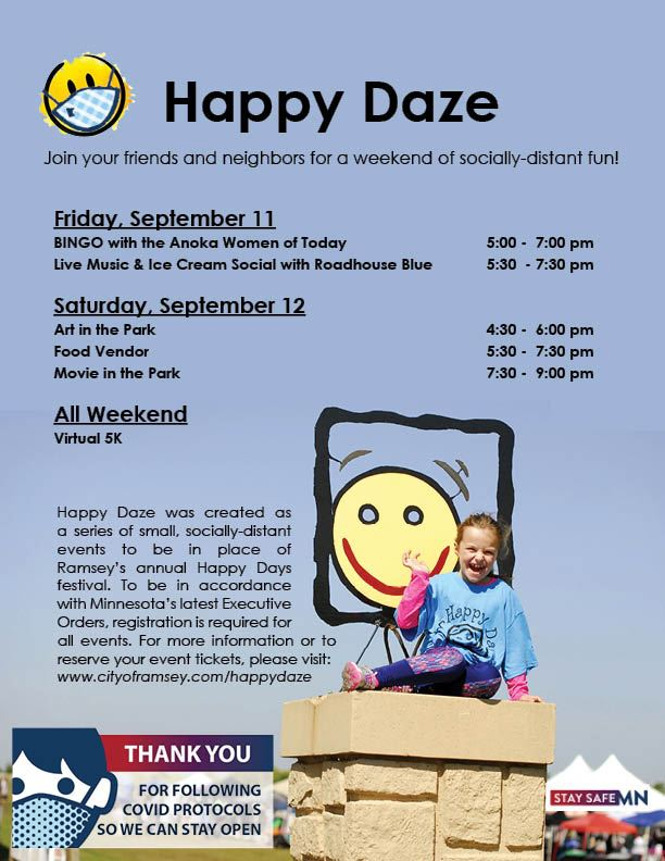 Draft Happy Daze Schedule Updated Draft1